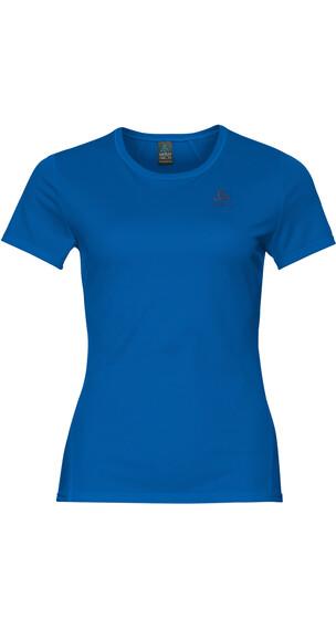 Odlo Shaila Hardloopshirt korte mouwen Dames blauw